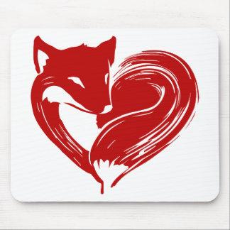 Mousepad Raposas do amor