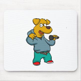Mousepad Rapper do cão amarelo