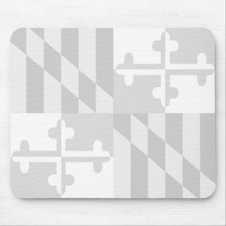 Mousepad Rato monocromático da bandeira de Maryland