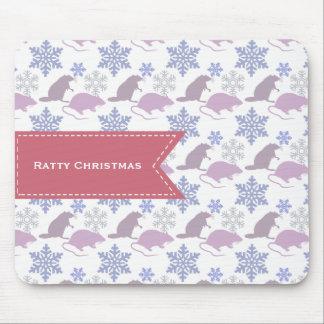 Mousepad Rato Ratty do Natal