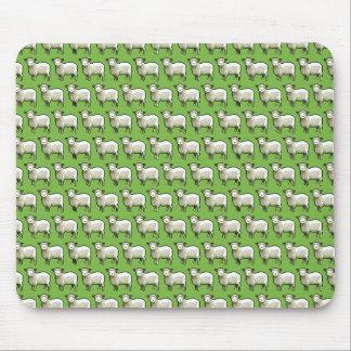 Mousepad Rebanho da arte do pixel do teste padrão dos