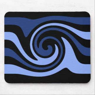 Mousepad Redemoinho do preto azul