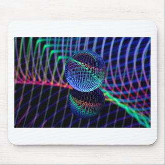 Mousepad Redemoinhos e linhas na bola de vidro