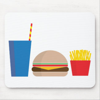 Mousepad refeição do fast food