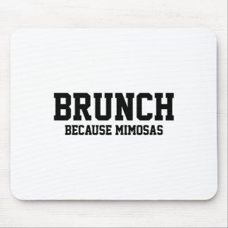 Mousepad Refeição matinal porque Mimosas