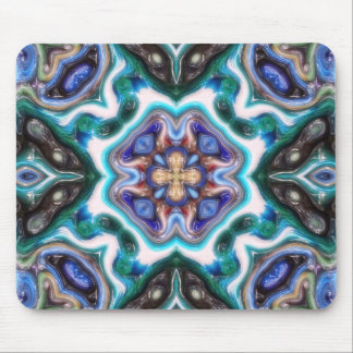 Mousepad Reflexões abstratas lustrosas