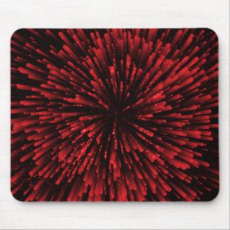 Mousepad Refrigere o design vermelho da explosão