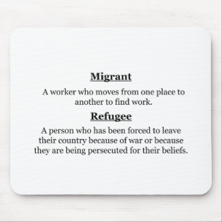 Mousepad Refugiados emigrantes