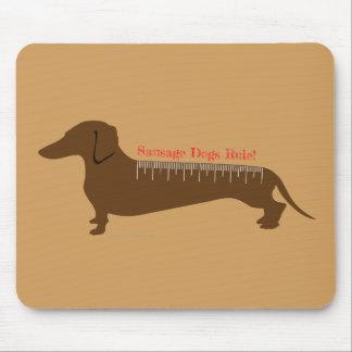 Mousepad Regra dos cães de salsicha