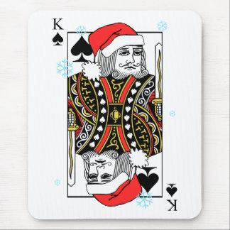 Mousepad Rei do Feliz Natal das pás