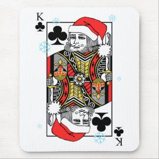 Mousepad Rei do Feliz Natal dos clubes