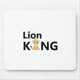 Mousepad rei do leão