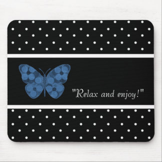 MOUSEPAD RELAX-SELF-EXPRESSION--TEMPLATE-BUTTERFLY-PATCH