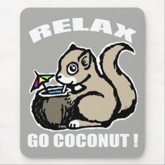 Mousepad Relaxe! Vai o coco