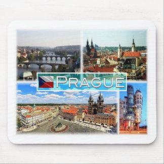 Mousepad República checa da CZ - Praga - Prag - Praha -