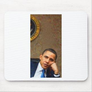 Mousepad Retrato abstrato do presidente Barack Obama 11