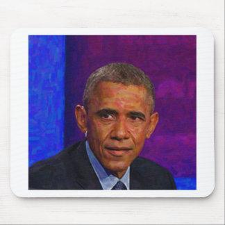 Mousepad Retrato abstrato do presidente Barack Obama 7