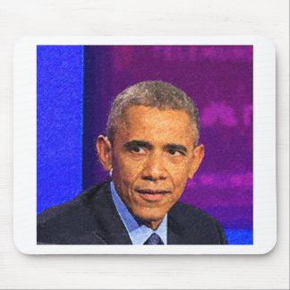 Mousepad Retrato abstrato do presidente Barack Obama 8
