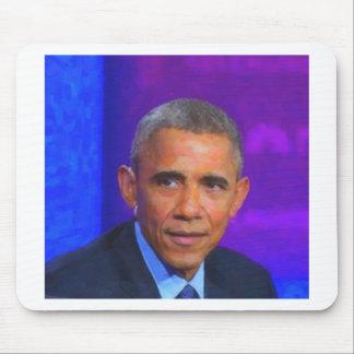 Mousepad Retrato abstrato do presidente Barack Obama 8 a.jp