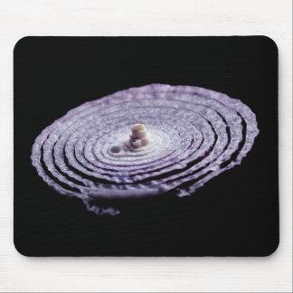 Mousepad Retrato da cebola vermelha