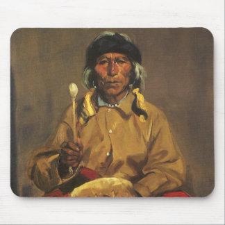 Mousepad Retrato de Dieguito Roybal por Robert Henri