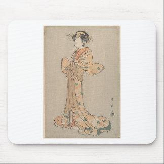 Mousepad Retrato do ator Nakamura Yasio como um Oiran
