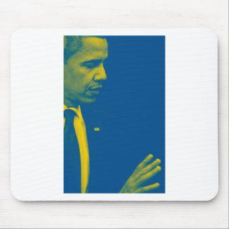 Mousepad Retrato do presidente Barack Obama 38d