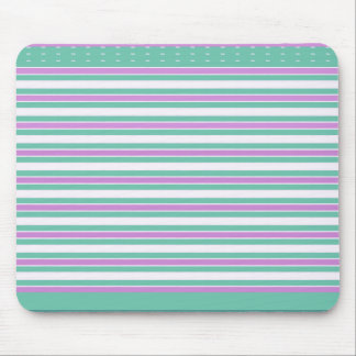 Mousepad Retro-Aqua-Pink-Stripes-Dots_Mod