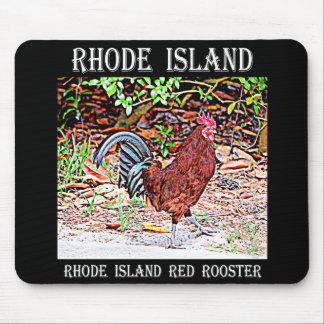 Mousepad Rhode - galo do vermelho da ilha