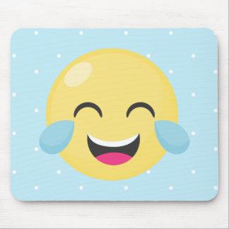 Mousepad Rindo para fora pontos altos de Emoji