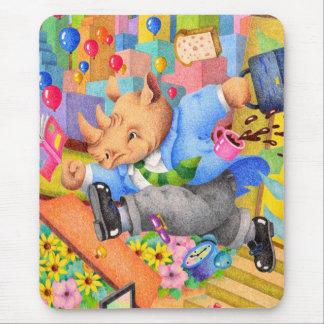 Mousepad Rinoceronte ocupado