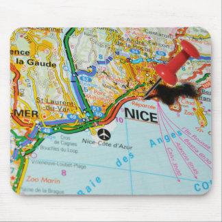 Mousepad Riviera agradável, francês, France