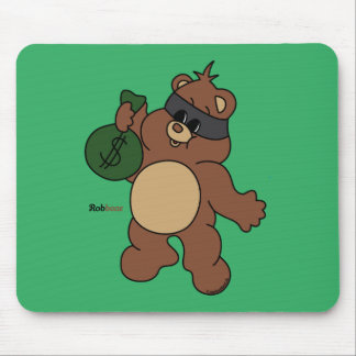Mousepad Robbear - Zaubaerland