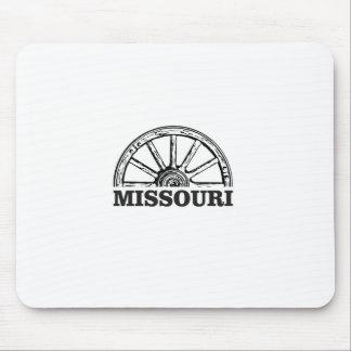 Mousepad roda de vagão de missouri