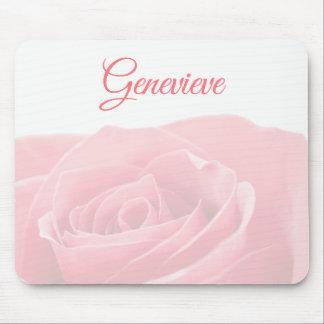 Mousepad Rosa bonito do rosa personalizado com tapete do