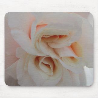 Mousepad Rosa branco