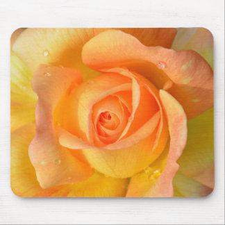 Mousepad Rosa branco bonito