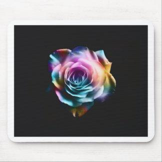 Mousepad Rosa colorido da tintura do laço