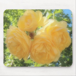 Mousepad Rosas amarelos