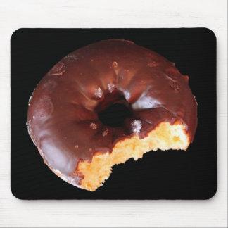 Mousepad Rosquinha do chocolate com a grande foto da