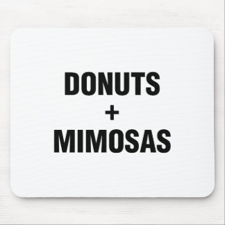 Mousepad Rosquinhas & Mimosas