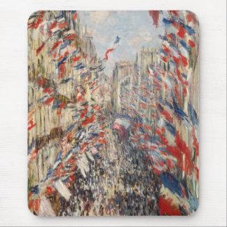 Mousepad Rua Montorgueil, 30o de junho de 1878 - Claude