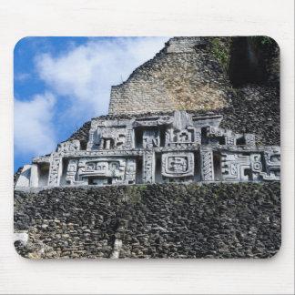 Mousepad Ruína maia de Xunantunich em Belize