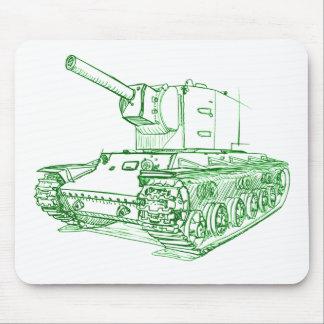 Mousepad Russo do tanque de KV2 Kb-2