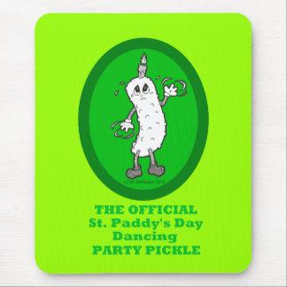 Mousepad Salmoura do partido de dança do dia de St Patrick
