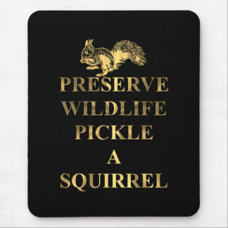 Mousepad Salmoura dos animais selvagens da conserva um