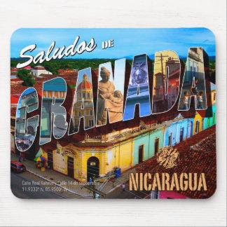 Mousepad Saludos de Granada Nicarágua