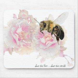 Mousepad Salvar a abelha! Salvar o mundo! Abelha bonito