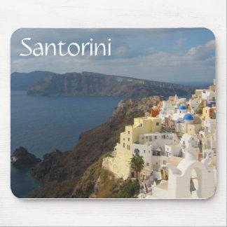 Mousepad Santorini na tarde Sun