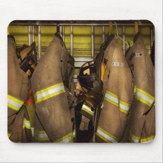 Mousepad Sapador-bombeiro - engrenagem do depósito